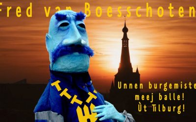 Guerilla-campagne voor Tilburgse burgemeester